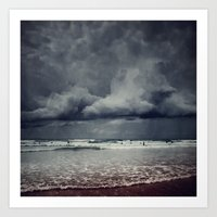 Elemental - Surf And Clo… Art Print