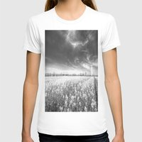 The Farm Of Dreams Womens Fitted Tee White SMALL