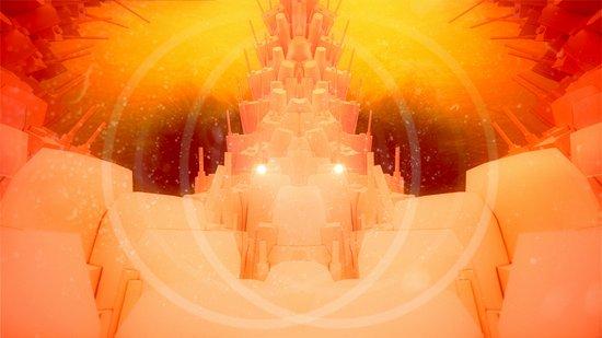 Space Castle Art Print