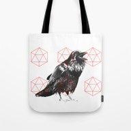 Sacred Raven Tote Bag