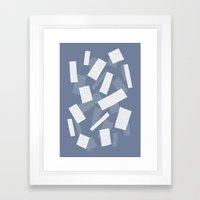 Wood Henge Reverse Framed Art Print