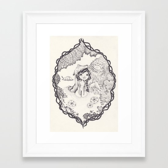 wild Framed Art Print