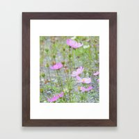 Wild Flowers in the Field Framed Art Print
