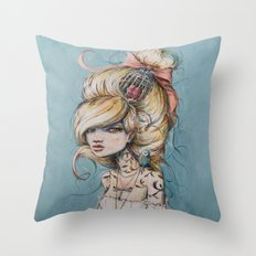My Caged Heart Throw Pillow