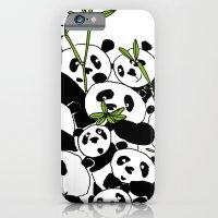 A Pandemonium of Pandas  iPhone 6 Slim Case