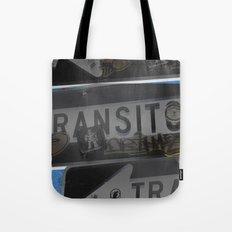 trans trans transito Tote Bag