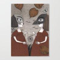 Ana And Eva (An All Hall… Canvas Print