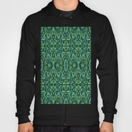 Forest Green & Teal Mosa… Hoody