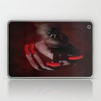 Grunge Bang Bang Red Nai… Laptop & iPad Skin