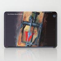 mousetrap / pop art, still life, object iPad Case
