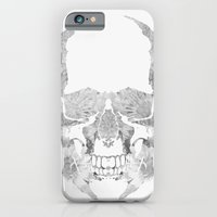 Skull BW iPhone 6 Slim Case