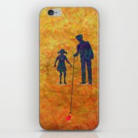 Fallen Love iPhone & iPod Skin