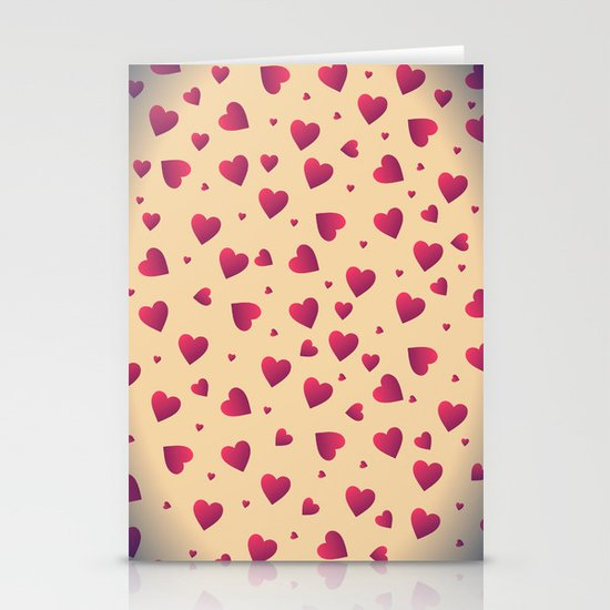 Sweet Heart Stationery Card