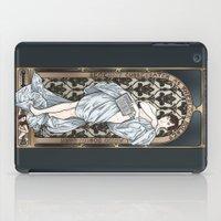 A Scandal in Belgravia - Mucha Style iPad Case