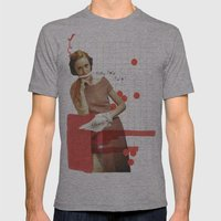 tienes hora, chato? Mens Fitted Tee Athletic Grey SMALL