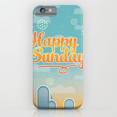 Happy Sunday iPhone 6 Slim Case