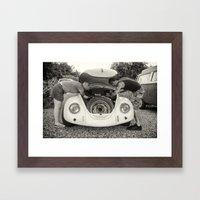 VW Beetle Framed Art Print