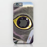 iPhone & iPod Case featuring Falling Cat & Hero by Tummeow