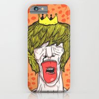 iPhone & iPod Case featuring Whisper by Lee Grace Illustration