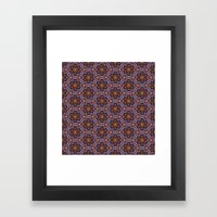 Pttrn24 Framed Art Print