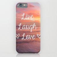 Live Laugh Love - Beach iPhone 6 Slim Case