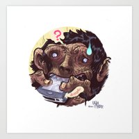 IPhone Of The Apes Art Print