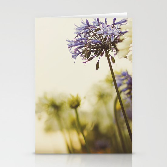 Agapanthus Stationery Card