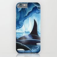 iPhone & iPod Case featuring Icy Roads by Dana Martin