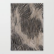 It's Waving Calligraphy Canvas Print