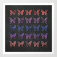Butterfly Exhibition  Art Print