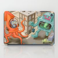 Squid vs Robot iPad Case