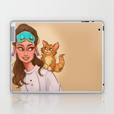 Holly & Cat Laptop & iPad Skin