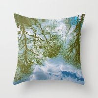TREE-FLECTS Throw Pillow