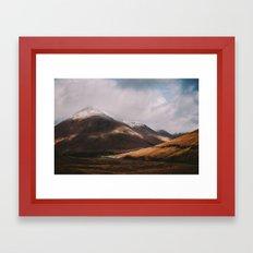 Scottish Highlands Framed Art Print
