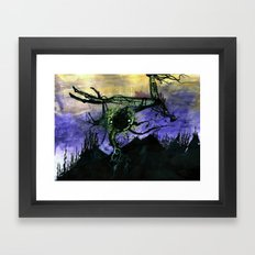 Deconstruction and Growth Framed Art Print