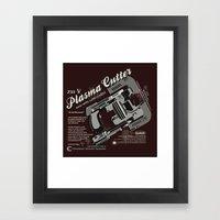 Dead Space - Plasma Cutt… Framed Art Print