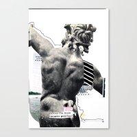 Petrification Canvas Print