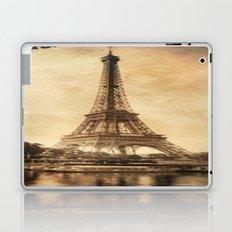 Vintage Eiffel Tower 2 Laptop & iPad Skin