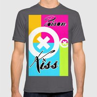 POISON KISS - COLORS EDITION Mens Fitted Tee Asphalt SMALL