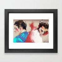 Sterek Framed Art Print