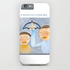 a lesson on a rainy day iPhone 6 Slim Case
