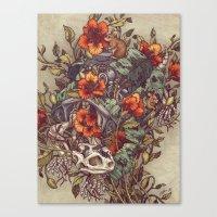 Robo Tortoise Canvas Print