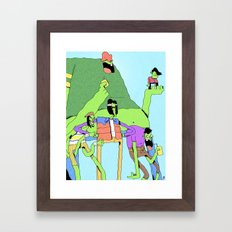 Gangreen Gang Framed Art Print