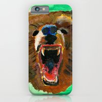 iPhone & iPod Case featuring This is a bear by Villaraco