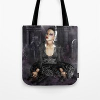 Don't I Bleed? - Gothic Bleeding Female Painting Tote Bag
