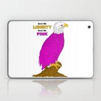 PINK LIBERTY EAGLE Laptop & iPad Skin