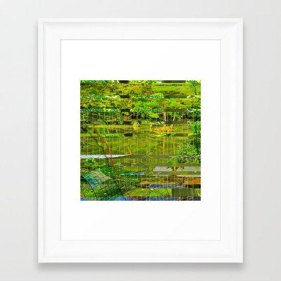 Landscape of My Heart (segment 3) Framed Art Print