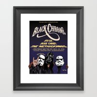 May The 4th Be With You! Framed Art Print