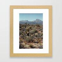 Cold Creek, Nevada Framed Art Print