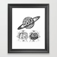 PLANET UZU  Framed Art Print